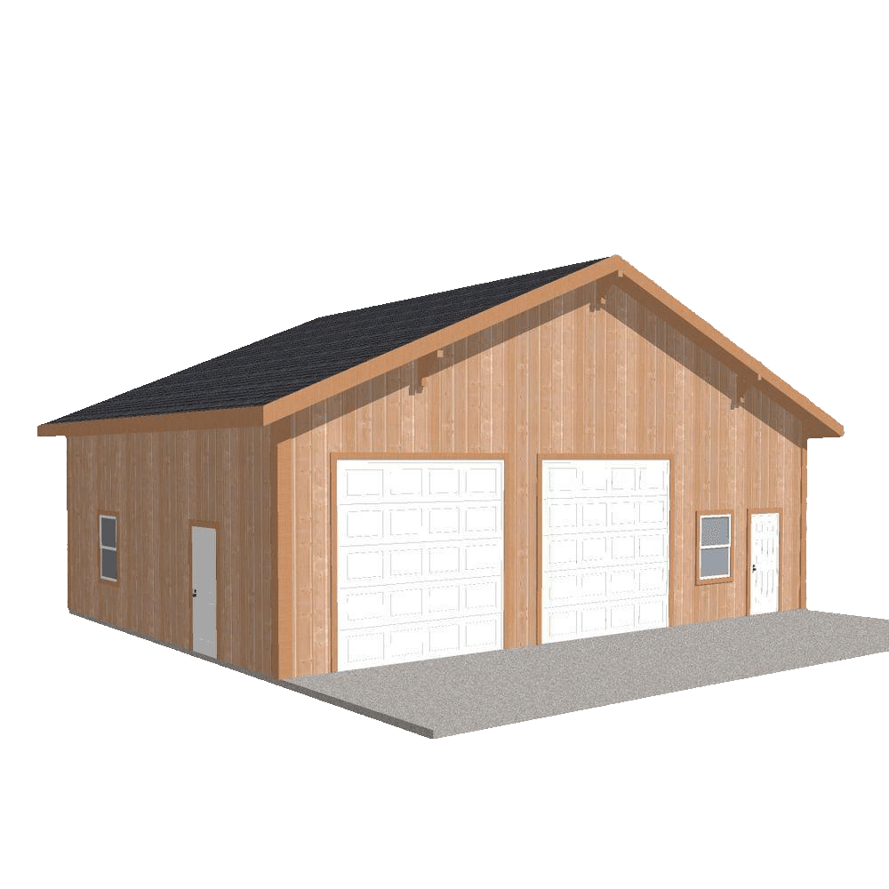 pole barn animated