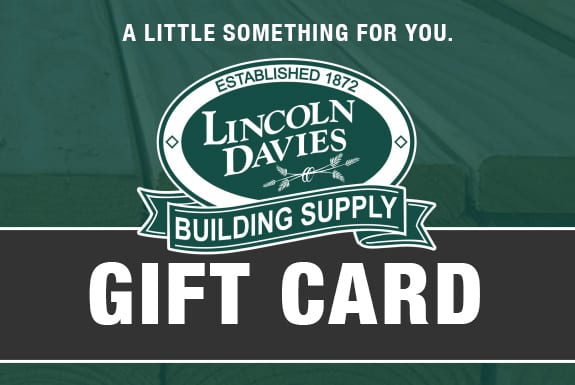 Purchase a Lincoln Davies Gift Card today!